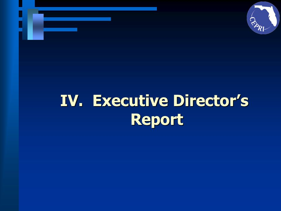 V.State Board of Education Report