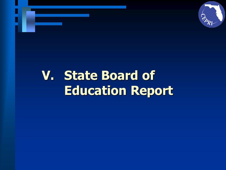 VI.University Board of Governors Report