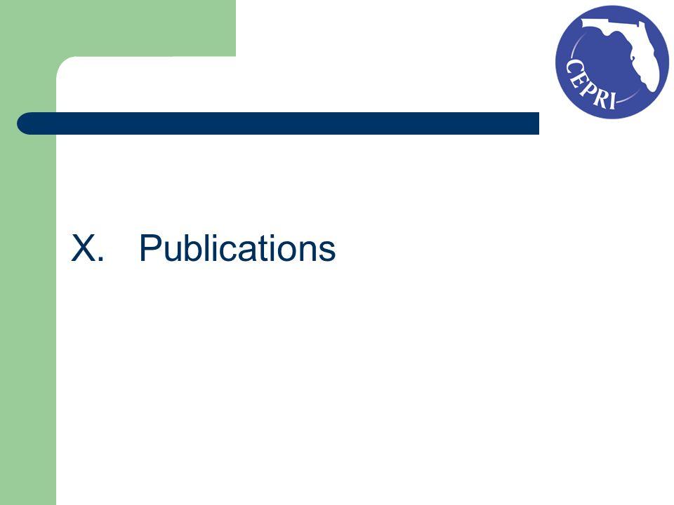 X.Publications