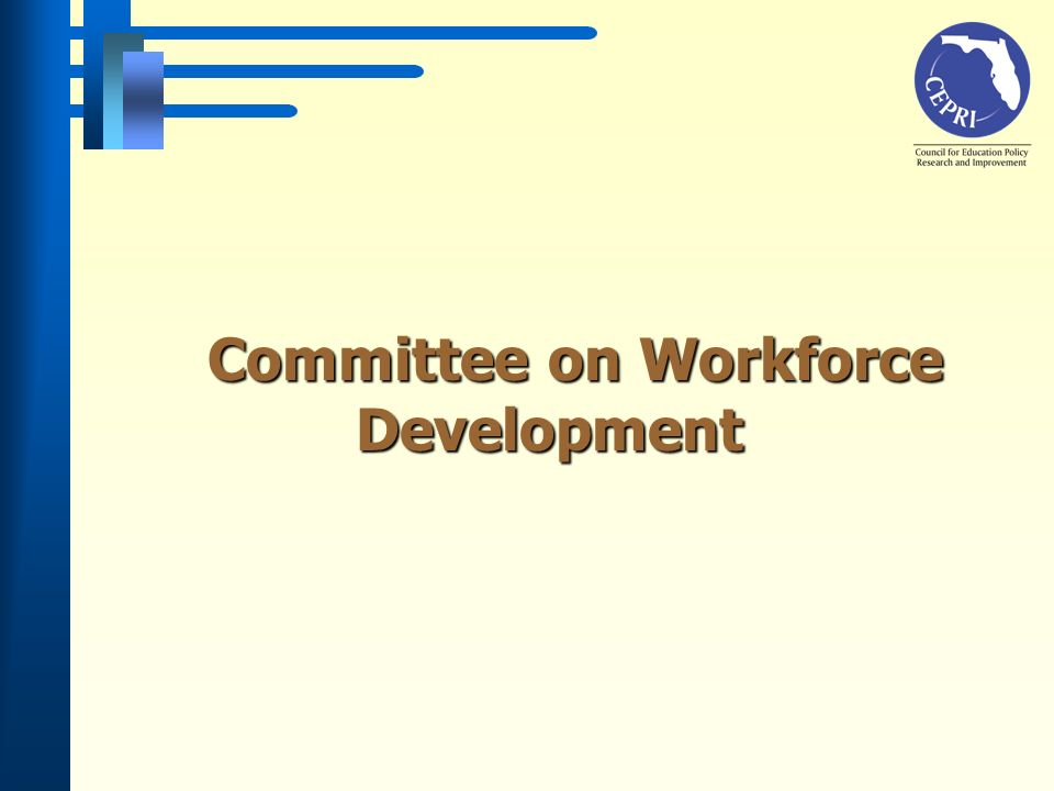 Committee on Workforce Development