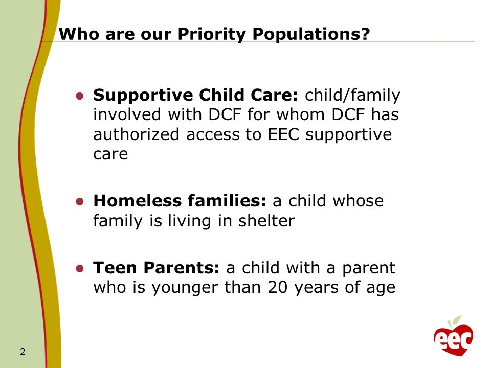 Who are our Priority Populations.