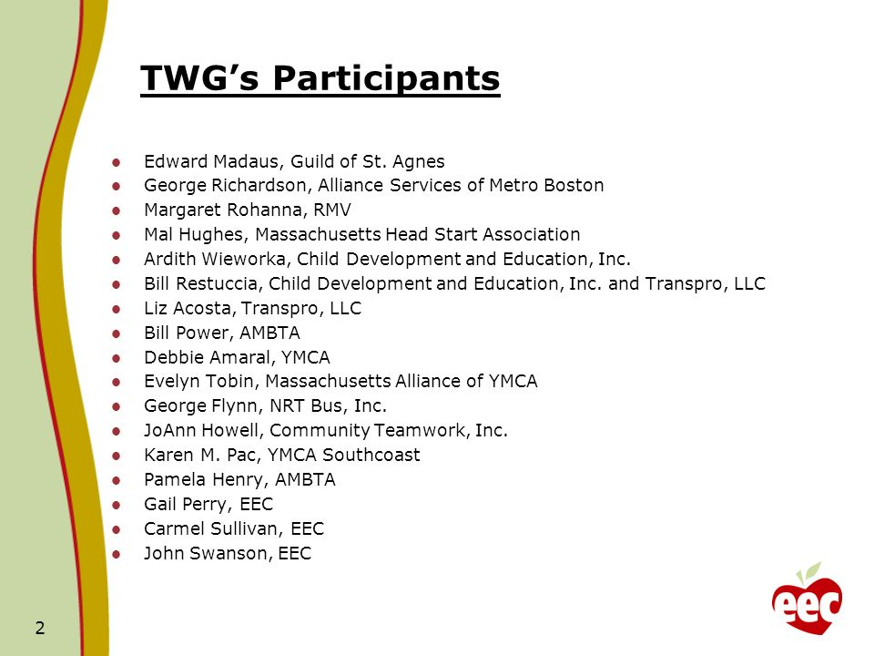 TWGs Participants Edward Madaus, Guild of St.