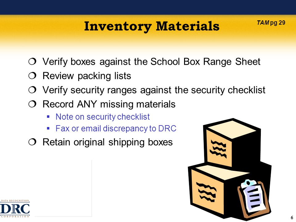 77 Additional Material Requests Administrative Additional Materials Order Form Student/Teacher-Level Additional Materials Order Form Indicate grade-level, form type, material type, and quantity Include student name for all orders Record materials on District and School Security Checklists