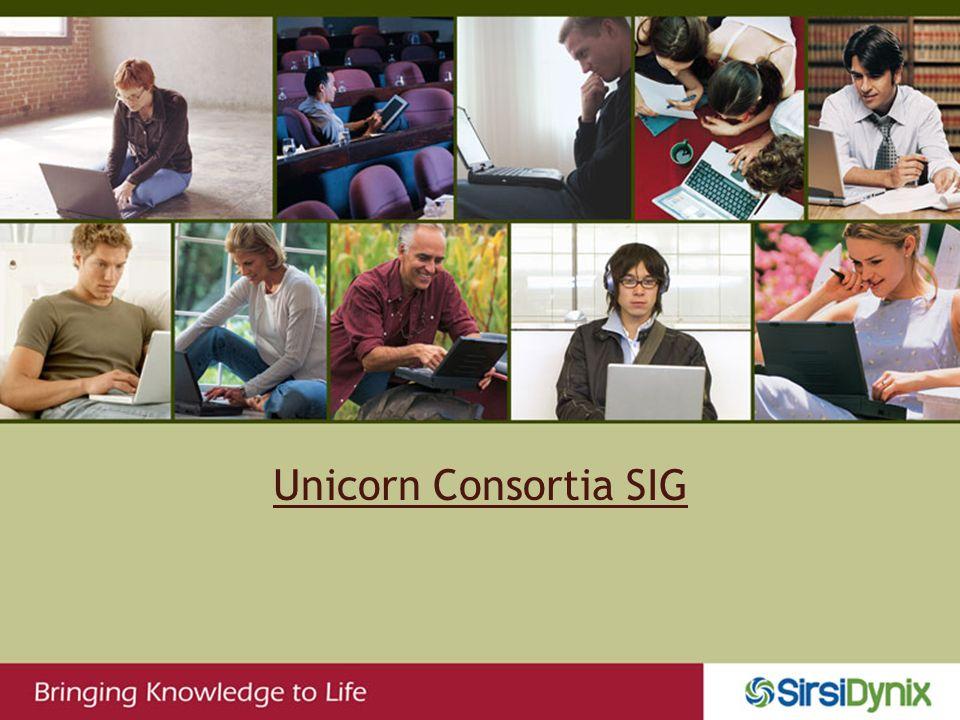 Unicorn Consortia SIG
