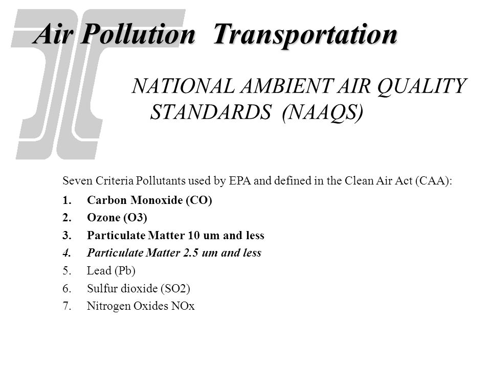US EPA Designations: Air Quality Non-attainment Areas & Maintenance Areas A non-attainment Area is any geographic region designated as in violation of National Ambient Air Quality Standards for a specific pollutant.