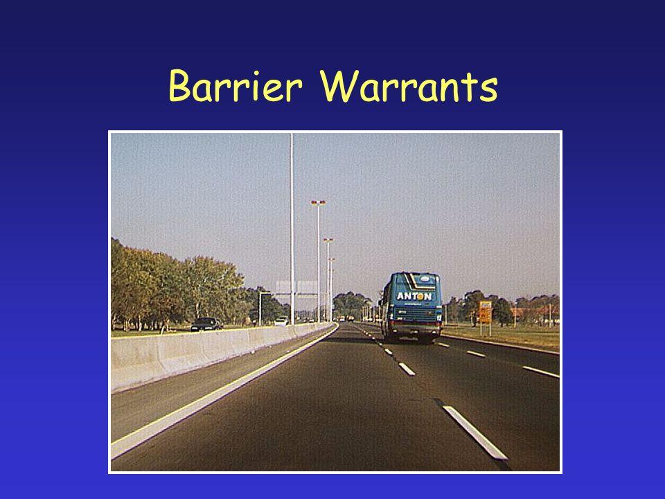 Barrier Warrants