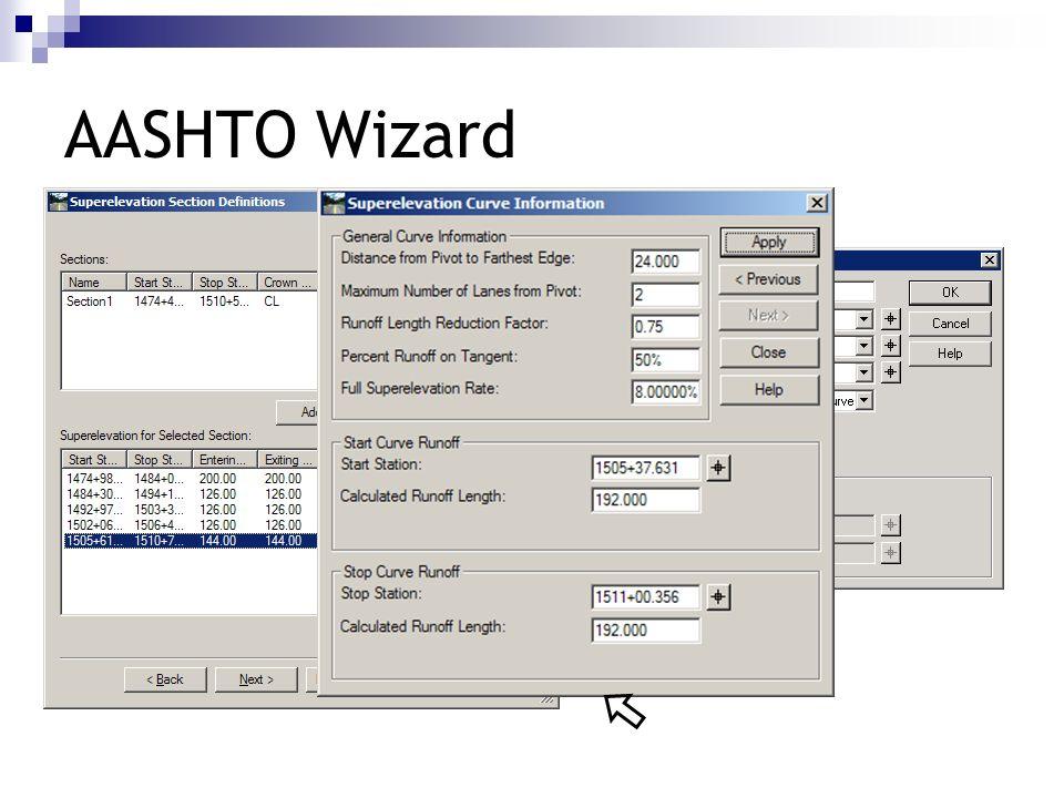 AASHTO Wizard 192 192