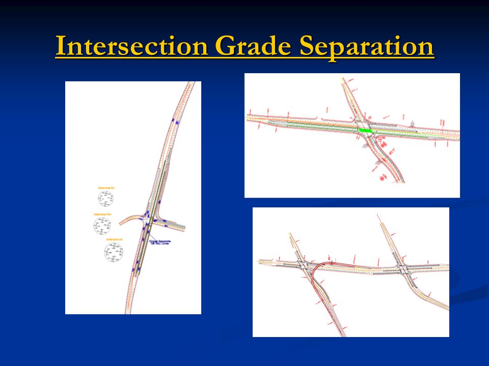Intersection Grade Separation