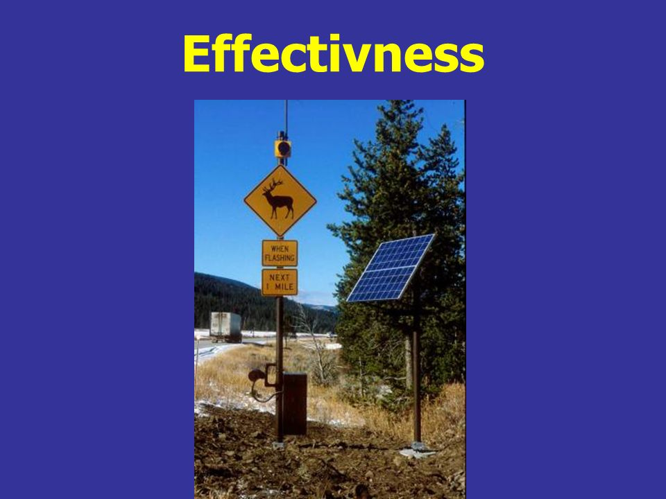 Effectivness