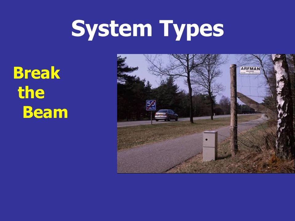 System Types Break the Beam
