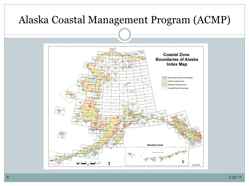 Alaska Coastal Management Program (ACMP) 2-22-118