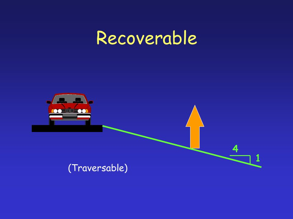 Recoverable 1 4 (Traversable)