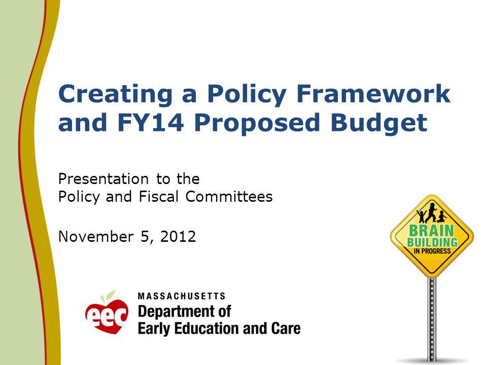 Proposed FY15 EEC Budget 32