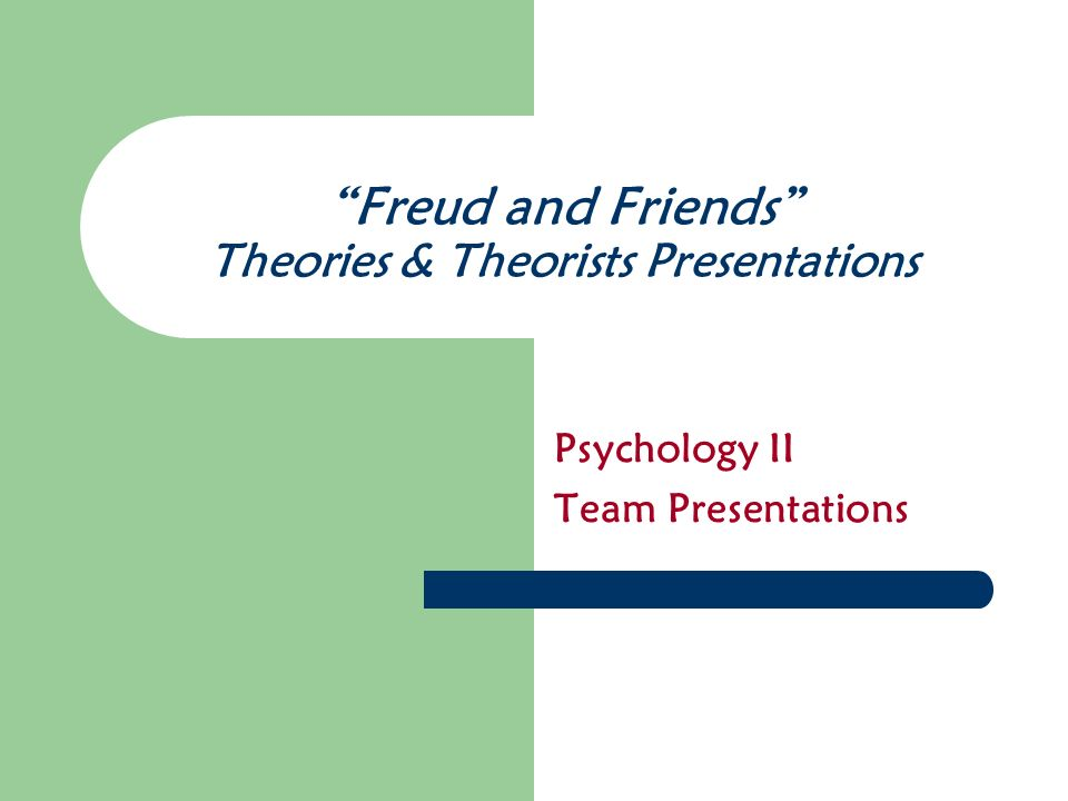 Content of the Presentation Theorists Background – Date and place of birth – Significant family information – Significant historical information – Discuss how upbringing influenced theory School-of-Thought/Theoretical Perspective – Briefly discuss school-of-thought (i.e.
