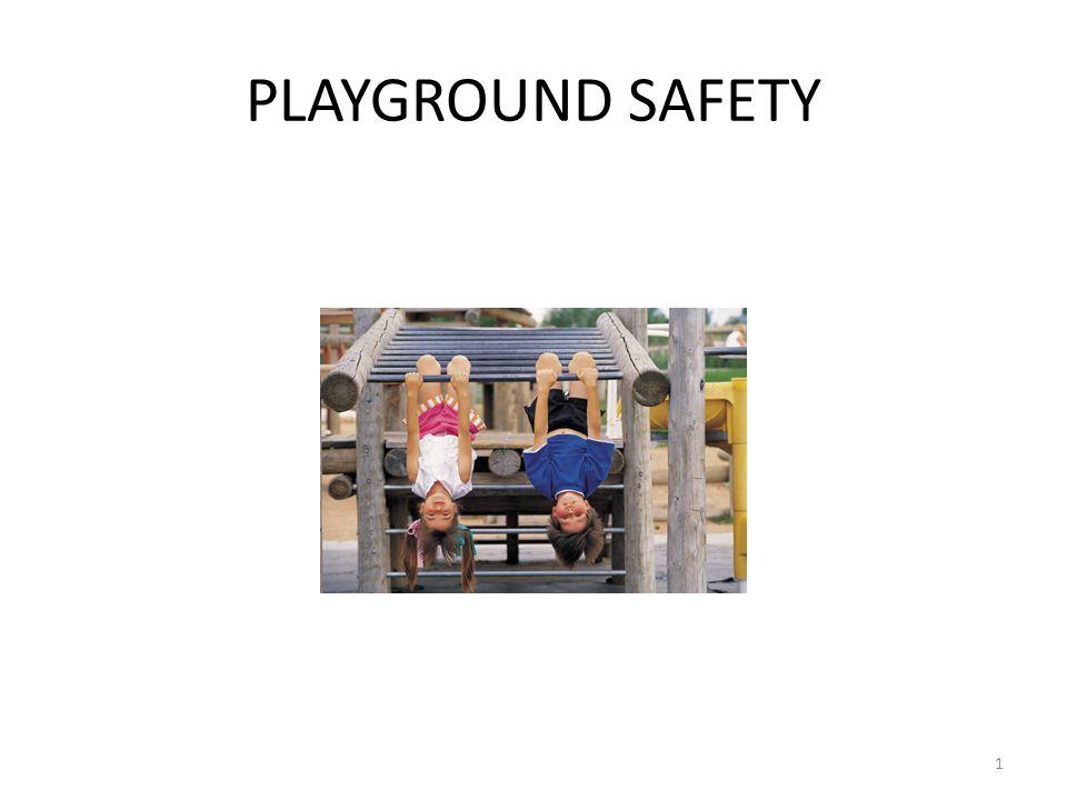 PLAYGROUND SAFETY 1