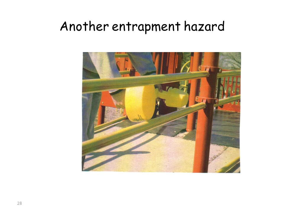 28 Another entrapment hazard