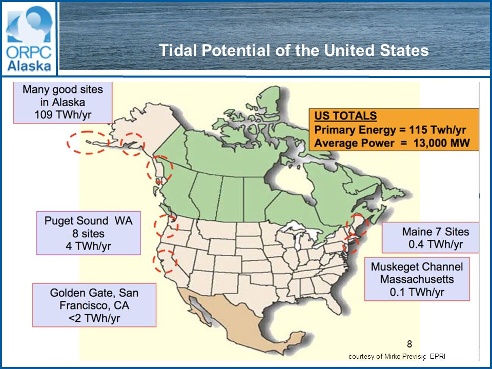 29 Why does Alaska need tidal energy NOW.