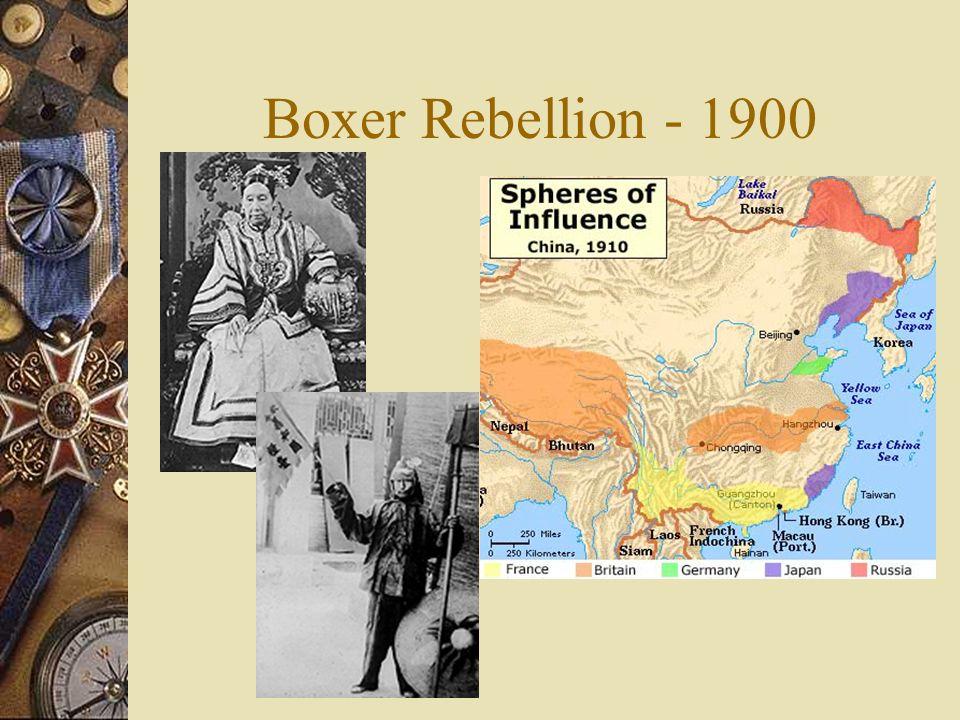 Boxer Rebellion - 1900