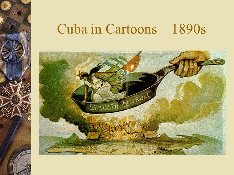 Cuba in Cartoons 1890s