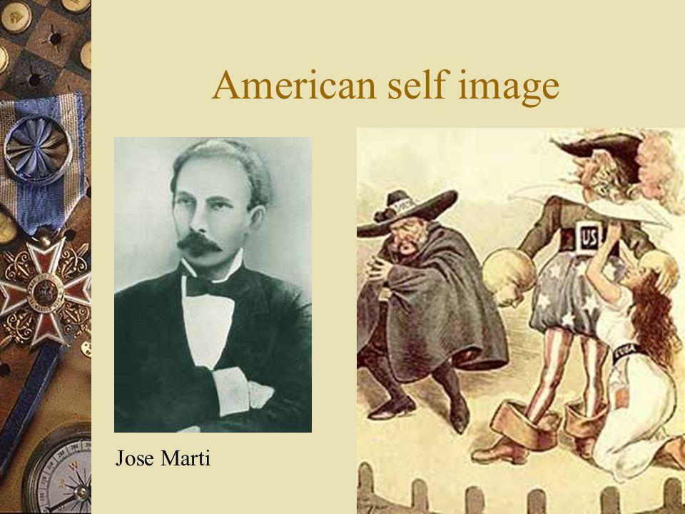 American self image Jose Marti