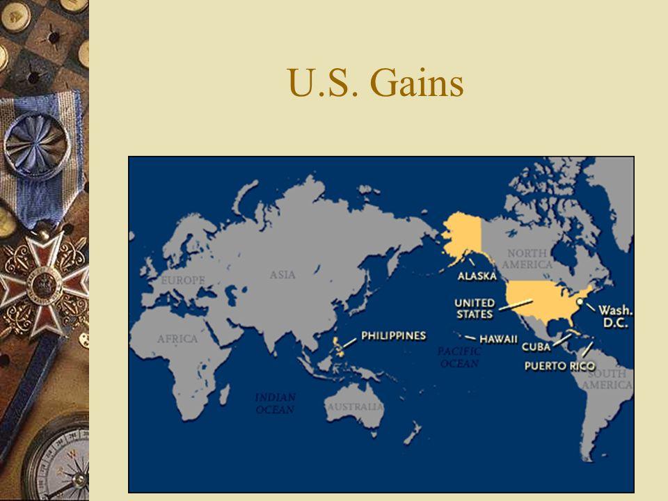 U.S. Gains