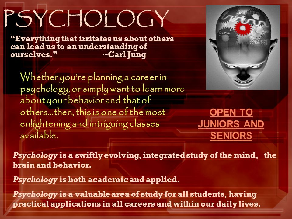 PSYCHOLOGY Everything that irritates us about others can lead us to an understanding of ourselves.