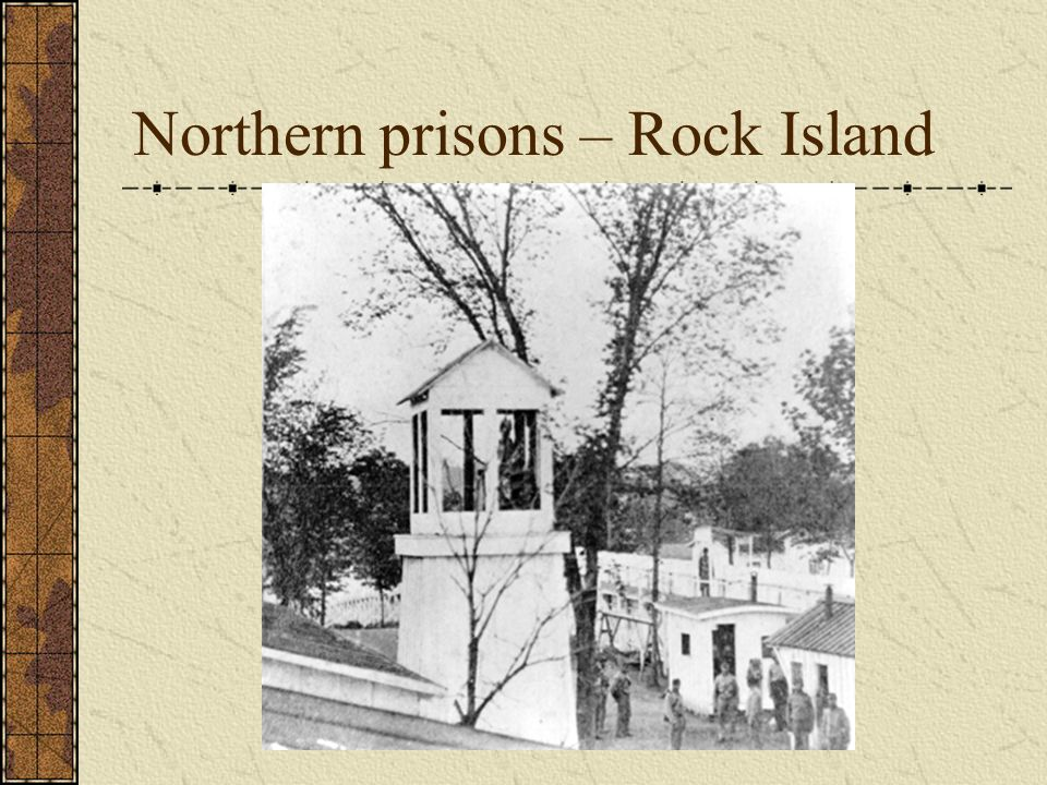 Northern prisons – Rock Island
