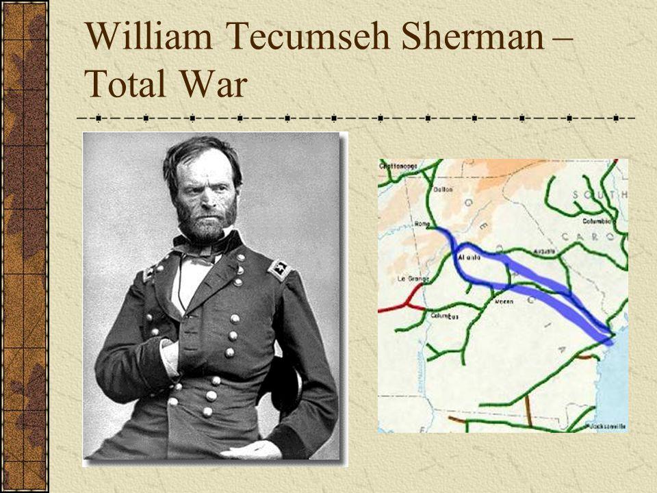 William Tecumseh Sherman – Total War