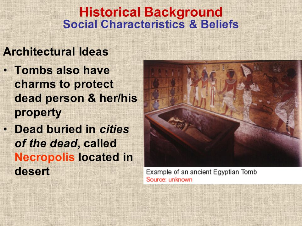 More on Egyptian Architecture