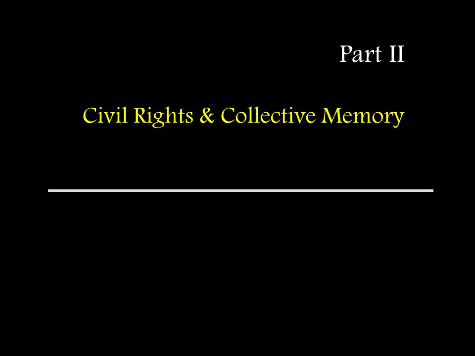 African-American Civil Rights History: Moving Beyond the Myths Teaching the complexities of civil rights history in light of the powerful collective memories.