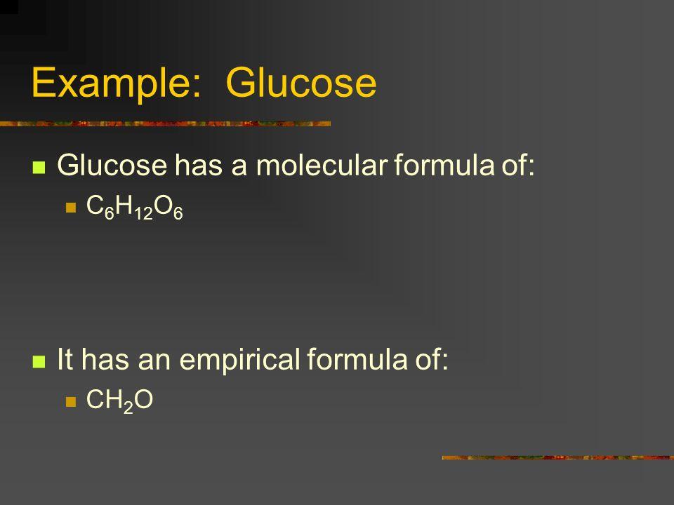 Formulas contd A molecular formula is always a multiple of empirical formula A compound has ONE molecular formula Many compounds have the same empirical formula