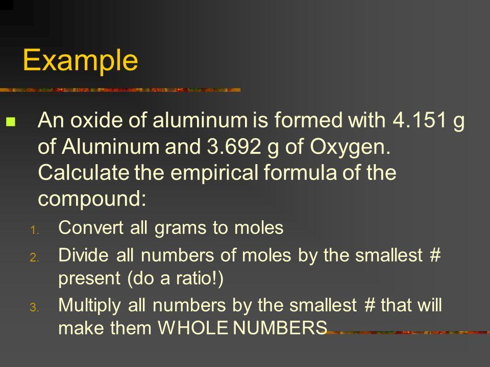 Find molecular formulas from empirical formulas A white powder is analyzed and found to have an empirical formula of P 2 O 5.