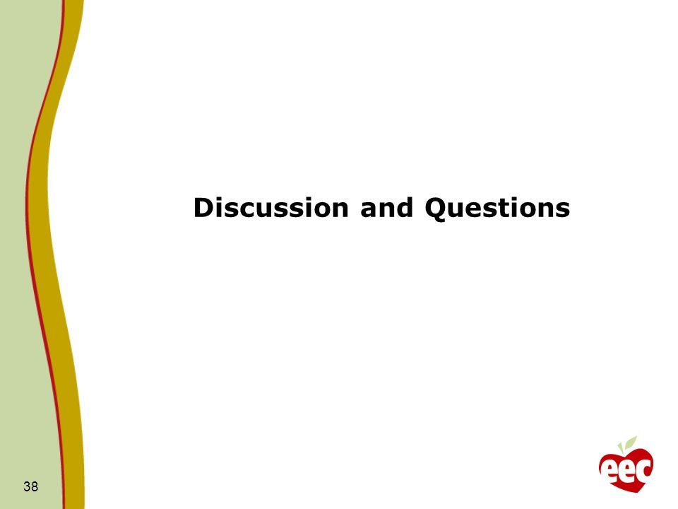 Discussion and Questions 38