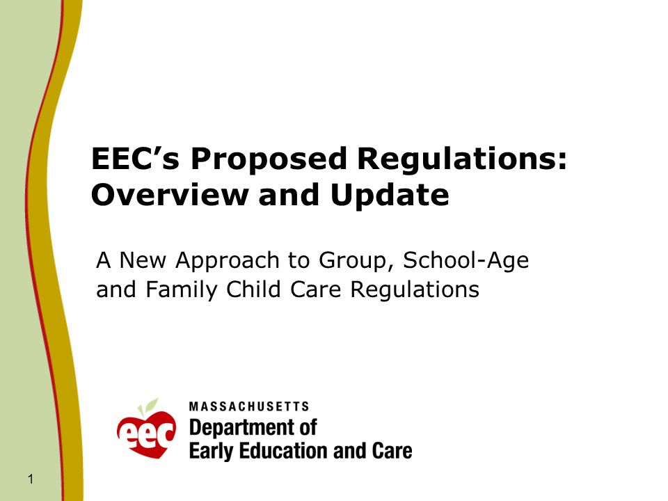 22 Moving Forward to Implementation A Measured Approach Ensure that programs and educators have the resources and tools they need to comply.