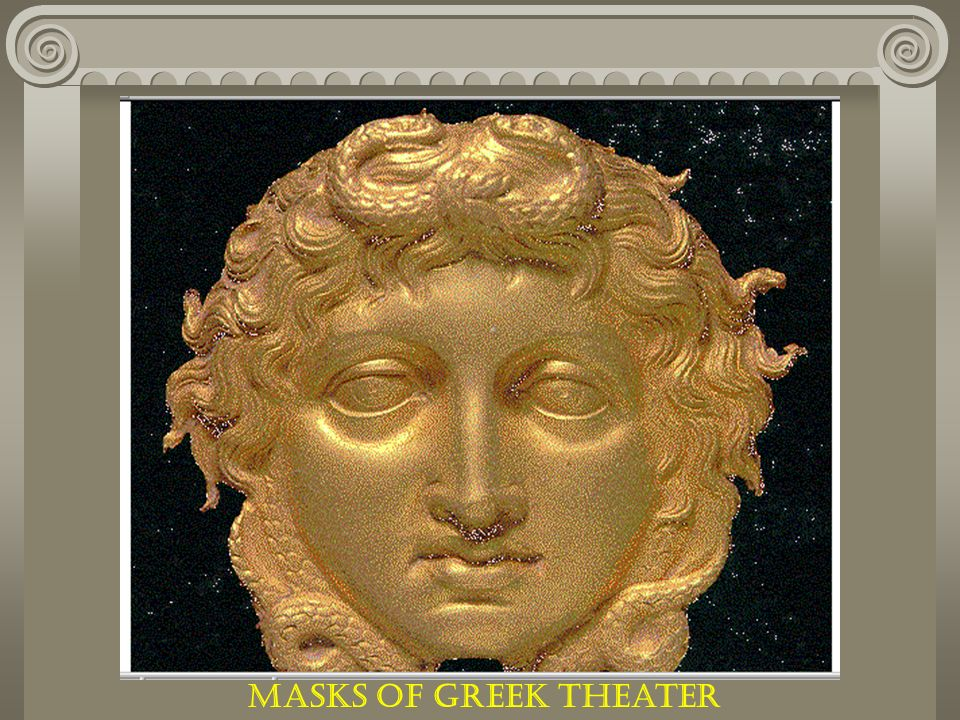 Masks of Greek Theater