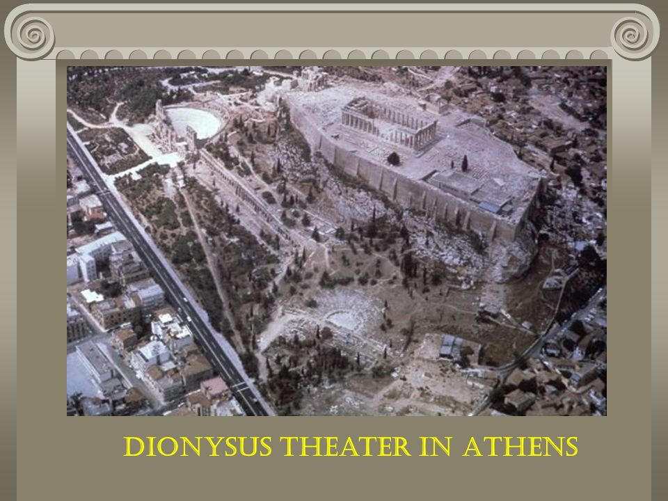 Dionysus Theater in Athens