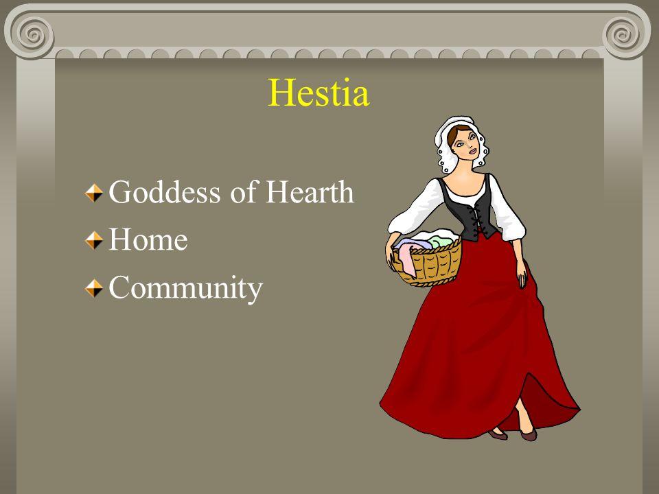 Hestia Goddess of Hearth Home Community