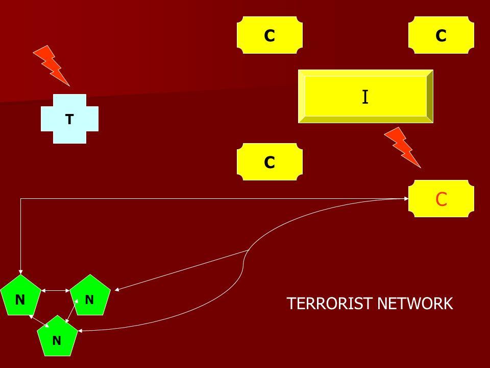 I C C N N N T CC TERRORIST NETWORK