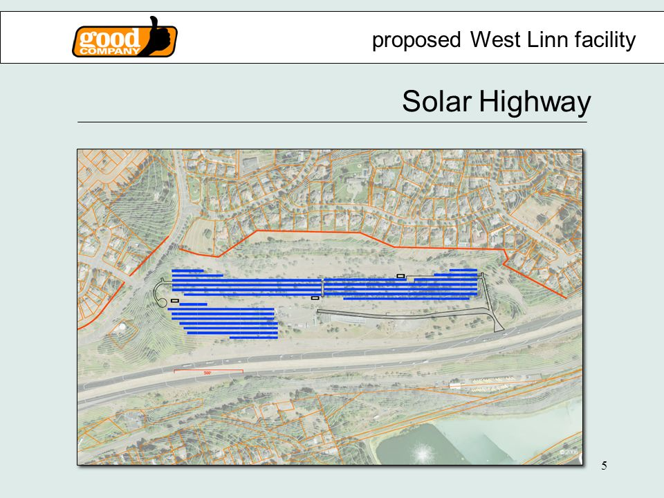 5 Solar Highway proposed West Linn facility