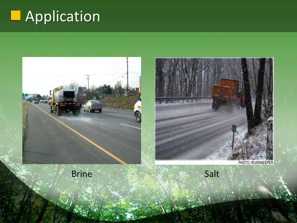 Application BrineSalt