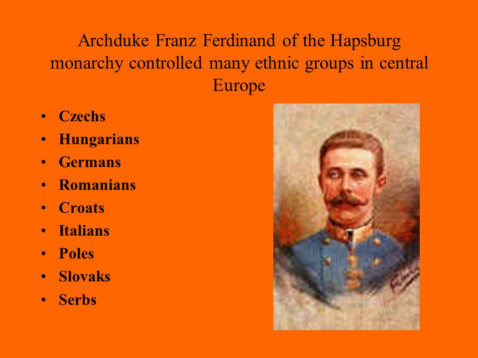 In central and eastern Europe, many ethnic groups were ruled by foreign monarchies Greeks were ruled by the Ottoman empire.