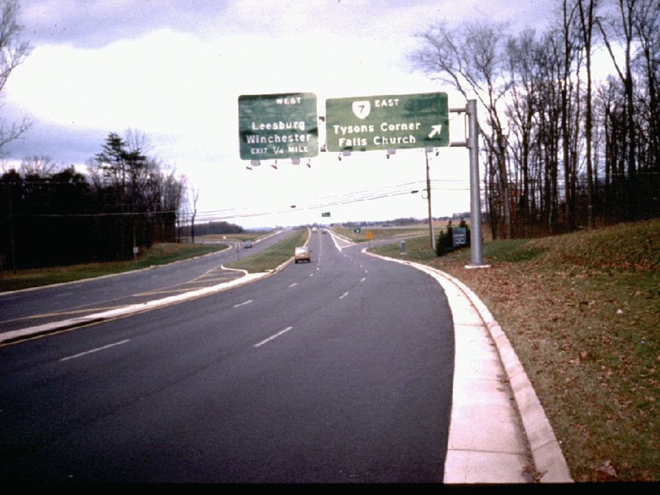 Tysons/Lessburg street sign