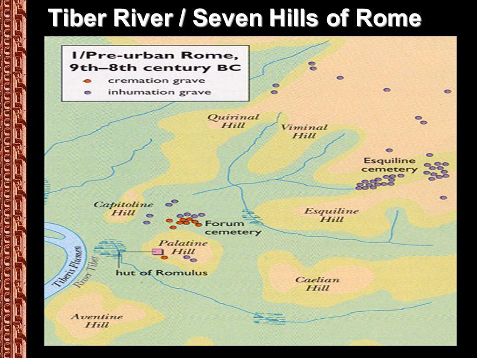 Tiber River / Seven Hills of Rome