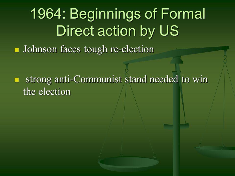 1963 JFK: Lets drop Diem or deepen American commitment in Vietnam.