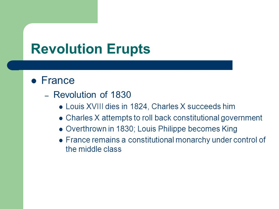 Revolution Erupts Latin America – French Revolution and Napoleonic Wars lead Spanish and Portuguese colonies to declare independence in 1820 – Most of