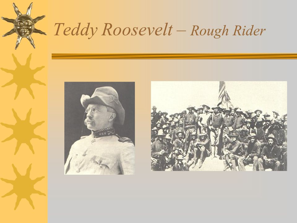 Teddy Roosevelt – Rough Rider