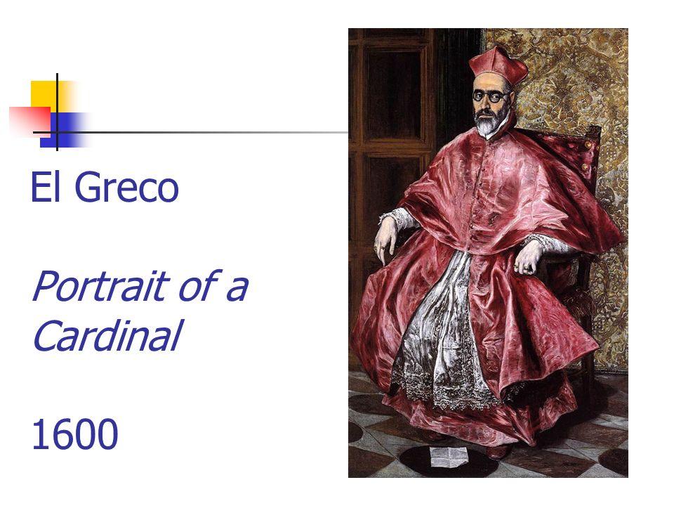 El Greco Portrait of a Cardinal 1600