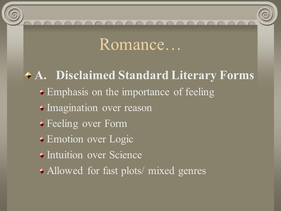 Romance… A.