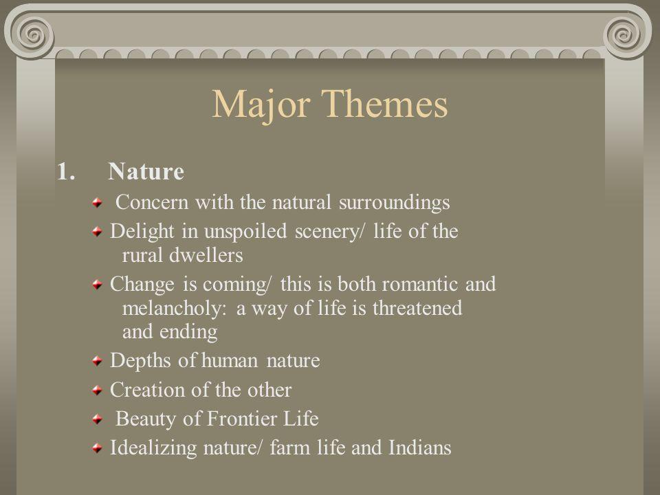 Major Themes 1.