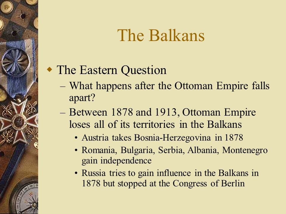 The Alliance System Britain spent 19 th century in splendid isolation – No alliancesno reason for them at the time – Rise of Germany changes attitudes